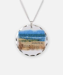 Cute Jersey shore beach Necklace