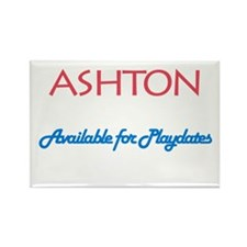 Ashton - Available for Playda Rectangle Magnet (10
