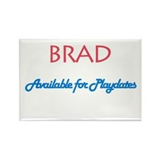 Brad - Available for Playdate Rectangle Magnet (10