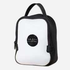 Wild Neoprene Lunch Bag