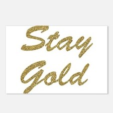 Stay Gold Postcards (Package of 8)