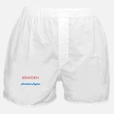 Brayden - Available for Playd Boxer Shorts