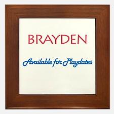 Brayden - Available for Playd Framed Tile