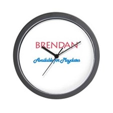 Brendan - Available for Playd Wall Clock