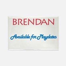 Brendan - Available for Playd Rectangle Magnet (10