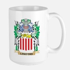 Lankford Coat of Arms - Family Crest Mugs