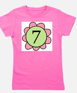 Cool Seven years old Girl's Tee