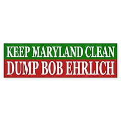 Keep Maryland Clean (bumper sticker)