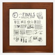 Finals Framed Tile