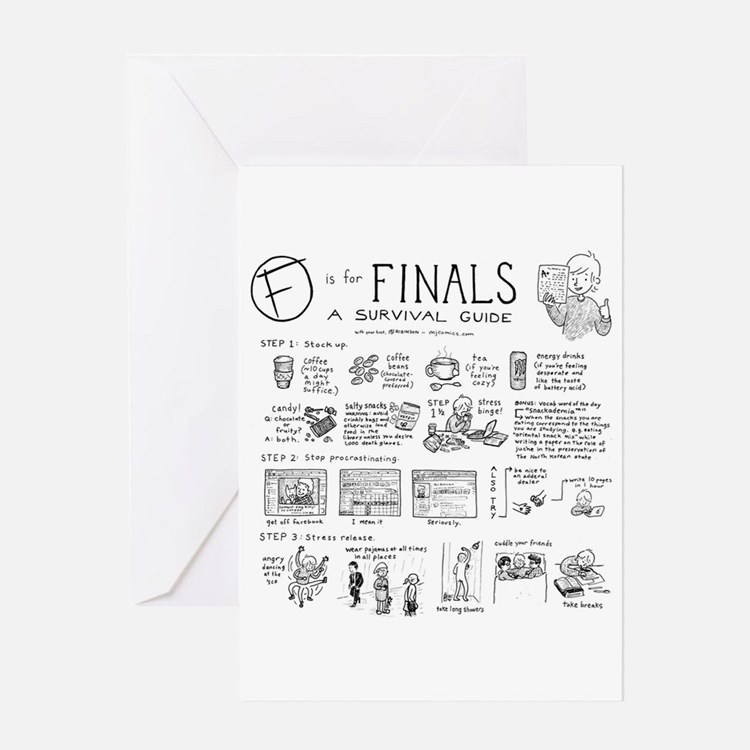 Finals Greeting Cards