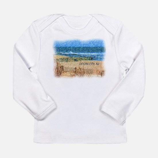 Ocean City NJ Beach Long Sleeve T-Shirt