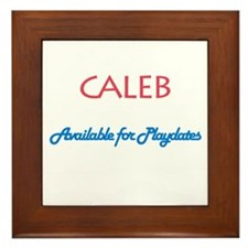 Caleb - Available for Playdat Framed Tile
