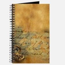 Funny Brown leather Journal