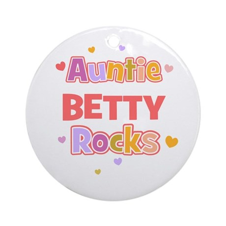 Betty Ornament (Round)
