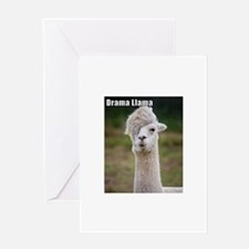 Drama Llama Greeting Cards
