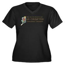 God Created Yorkies Plus Size T-Shirt
