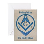 Masonic Birthday Greeting Cards (Pk of 20)