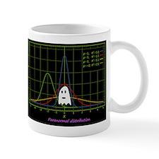 paranormal distribution ghost Mugs