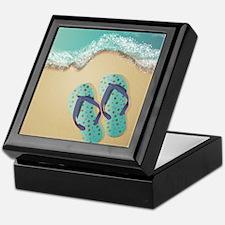 Flip Flops Keepsake Box