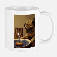 Happy Birthday Pug Mugs