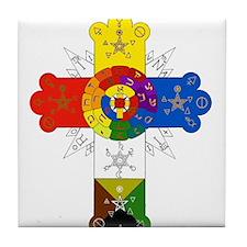 Cute Gnostic Tile Coaster