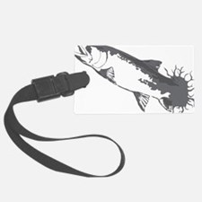Cute Fly fishing art Luggage Tag