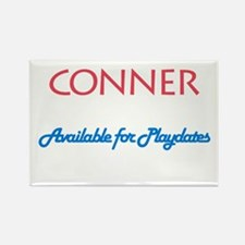 Conner - Available for Playda Rectangle Magnet (10