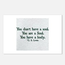 Soul and Body Postcards (Package of 8)