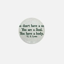 Soul and Body Mini Button (10 pack)