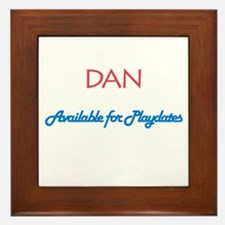 Dan - Available for Playdates Framed Tile