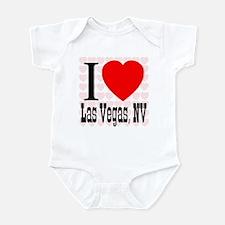 I Love Las Vegas, NV Infant Bodysuit