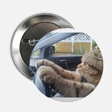 "Driving Cat 2.25"" Button"