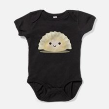 Cute Kawaii food Baby Bodysuit