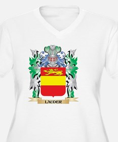 Lauder Coat of Arms - Family Cre Plus Size T-Shirt