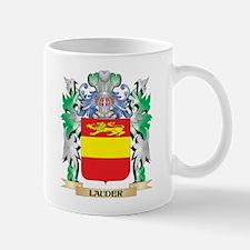 Lauder Coat of Arms - Family Crest Mugs