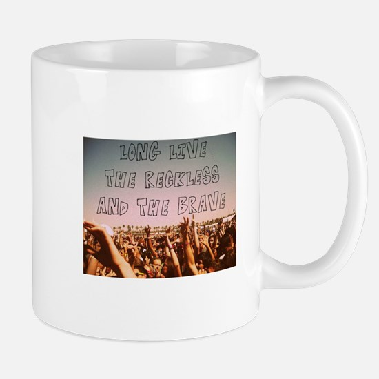 Long Live the Reckless and the Brave Mugs