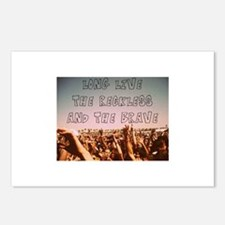 Long Live the Reckless an Postcards (Package of 8)
