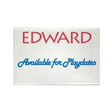 Edward - Available for Playda Rectangle Magnet (10