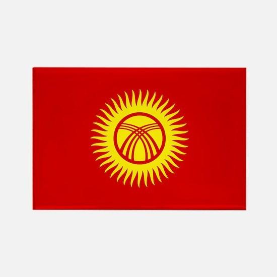 Kyrgyzstan Republic Rectangle Magnet