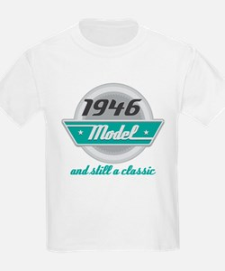 1946 Birthday Vintage Chrome T-Shirt