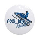 Feel The Rush Ornament (Round)