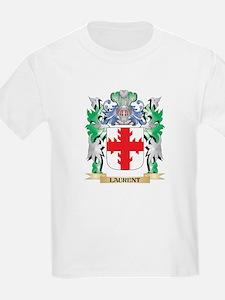Laurent Coat of Arms - Family Crest T-Shirt