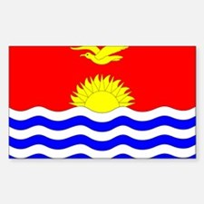 Kiribati Rectangle Decal