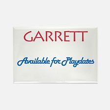 Garrett - Available for Playd Rectangle Magnet (10