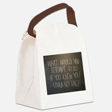 What would you attempt Canvas Lunch Bag