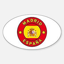 Unique Espana flag Decal