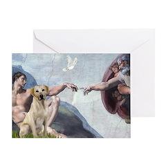 Creation/Labrador (Y) Greeting Card