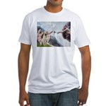 Creation/Labrador (Y) Fitted T-Shirt