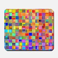 Color Mosaic Mousepad