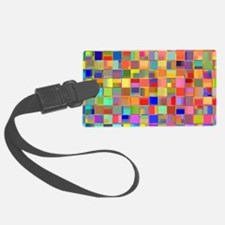 Color Mosaic Luggage Tag